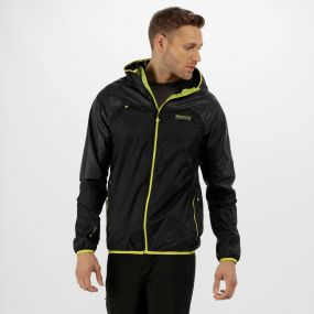 Levin II Reflective Waterproof Jacket Black
