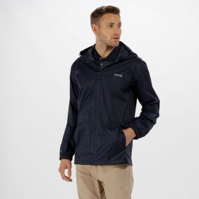 Pack-It Jacket lll Waterproof Packaway Navy