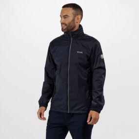 Lyle IV Waterproof Jacket with Concealed Hood Navy