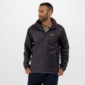 Lyle IV Waterproof Jacket with Concealed Hood Iron