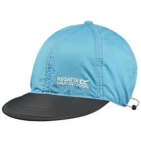 Pack It Peak Cap Atoll Blue