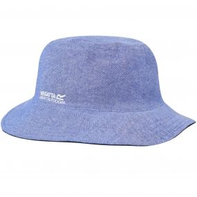 Cagney Coolweave Cotton Canvas Hat Chambray Navy