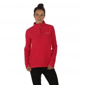 Sweethart Half Zip Lightweight Fleece Duchess Dark Cerise