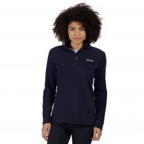 Sweethart Half Zip Lightweight Fleece Navy