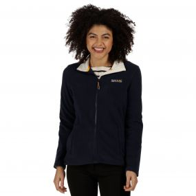 Clemance II Full Zip Fleece Navy Polar Bear