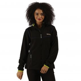 Floreo II Fleece Black Lime