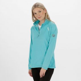 Women's Montes Lightweight Half Zip Fleece Horizon