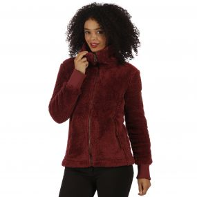 Halina Fleece Spiced Mulberry
