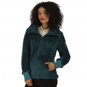 Halina Fleece Deep Teal
