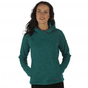 Women's Montem II Hooded Fleece Deep Lake
