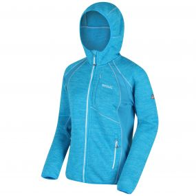 Willowbrook III Hooded Fleece Fluro Blue