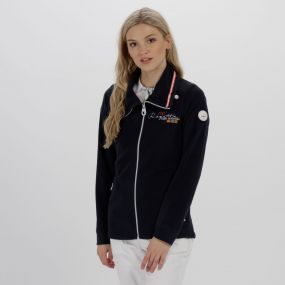 Darlene Lightweight Full Zip Fleece Navy