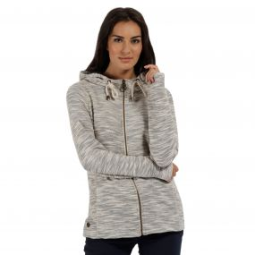 Orlenda Full Zip Hoody Light Vanilla