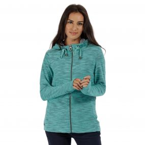 Orlenda Full Zip Hoody Jade Green