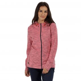 Orlenda Full Zip Hoody Desert Rose