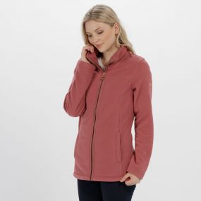 Fayona Full Zip Fleece Deco Rose