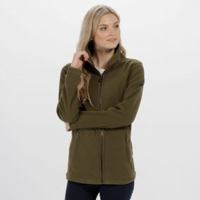 Fayona Full Zip Fleece Ivy Green