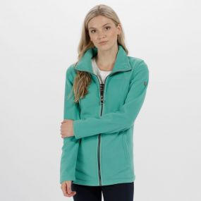 Fayona Full Zip Fleece Jade Green