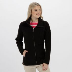 Fayona Full Zip Fleece Black