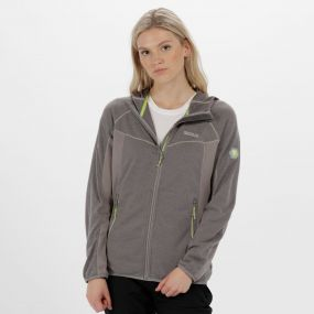 Willowbrook IV Knit Effect Fleece Rock Grey