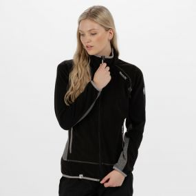 Jomor II Lightweight Full Zip Fleece Black
