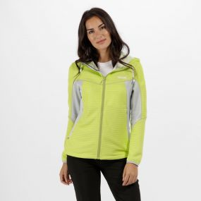 Women's Tarnis Stretch Fleece Lime Zest Light Steel
