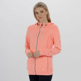 Ramosa Mid Weight Full Zip Fleece Fiery Coral