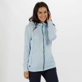 Ramosa Mid Weight Full Zip Fleece Hydrangea
