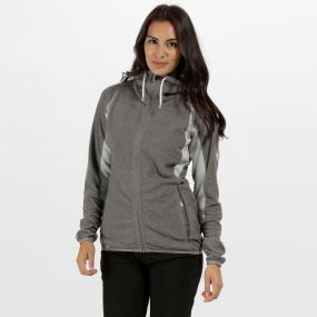 Women's Mons III Lightweight Full Zip Fleece Light Steel