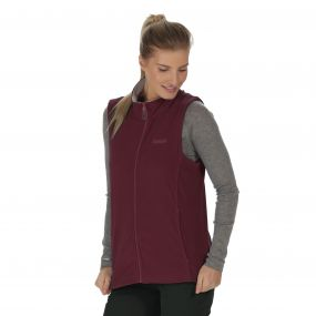 Sweetness II Lightweight Fleece Gilet Fig Warm Beige