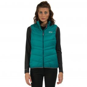 Womens Icebound Gilet Deep Lake