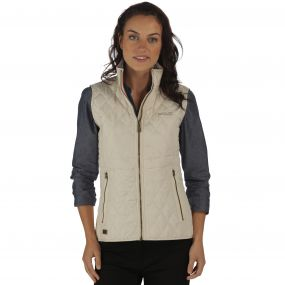 Cosmia Quilted Gilet Light Vanilla