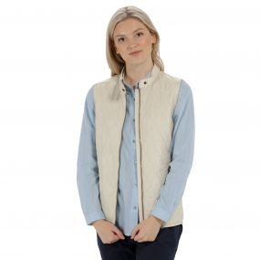 Camryn Quilted Gilet Light Vanilla