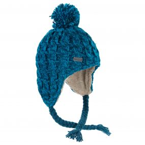 Womens Whirlwind Hat Deep Teal