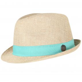 Taalia Hat Calico Jade Green