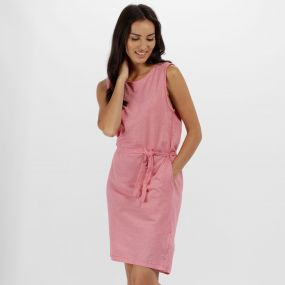 Haydee Coolweave Cottom Dress Lollipop