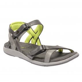 Women's Santa Cruz Sandals Granite Lime Fizz