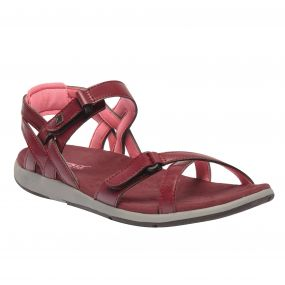 Women's Santa Cruz Sandals Black Cherry Desert Rose