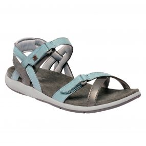 Women's Santa Cruz Sandals Stone Blue Light Steel