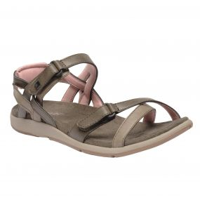 Women's Santa Cruz Sandals Walnut Mellow Rose