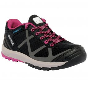 Lady Hyper-Trail Low Shoe Black Pink