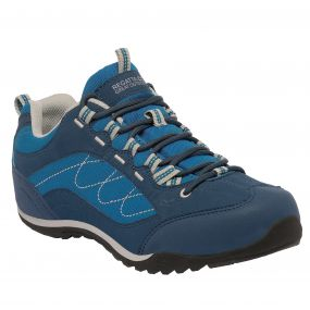 Lady Eastmoor Low Shoe Blue Wing   Steel