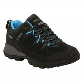 Lady Holcombe Low Walking Shoe Black Methyl