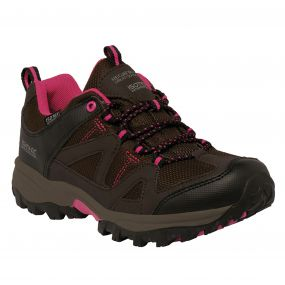 Lady Gatlin Low Walking Shoe Peat Vivacious