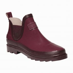 Women's Harper Low Wellington Boots Dark Pimento Fig