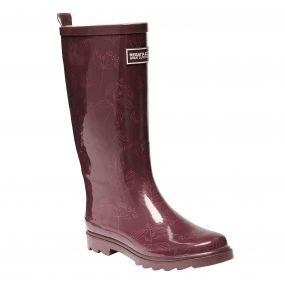 Women's Fairweather Wellington Boots Fig Rose Blush