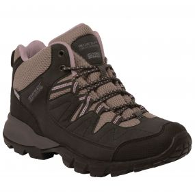 Lady Holcombe Mid Walking Boot Peat DuskyRo