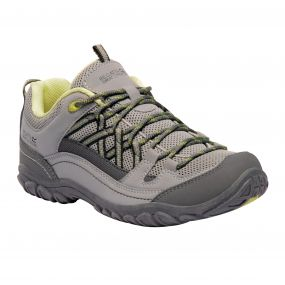 Women's Edgepoint II Walking Shoes Rock Grey Lime Fizz