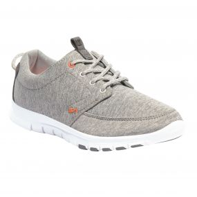 Lady Marine Shoe Grey Marl Satsuma