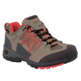 Lady Samaris Low Hiking Shoe Marble Coral